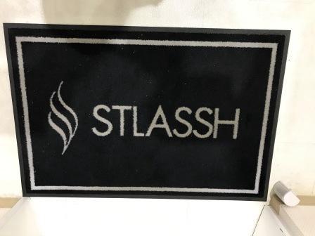 ストラッシュの入口マット